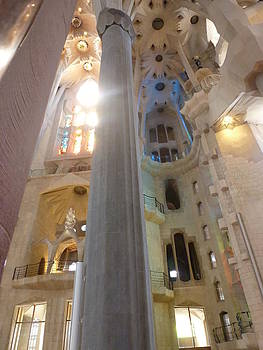 Gaudi Sagrada Familia by Christine Burdine