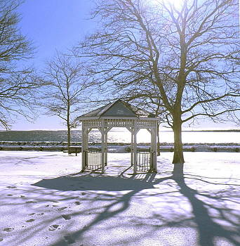 Kate Gallagher - Gazebo in Winter