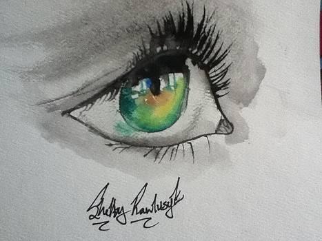 Gazing Through Windows by Shelby Rawlusyk