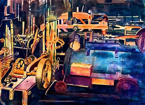 Frank SantAgata - Gears and Steam