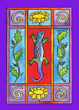 Gecko by Pamela  Corwin