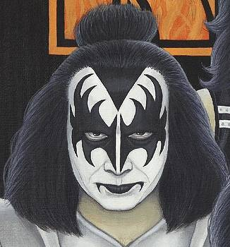 Gene Simmons by Mark Barnett