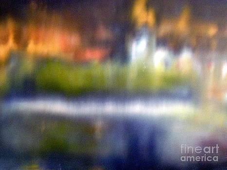 Geneva by night by Jenny Goldman