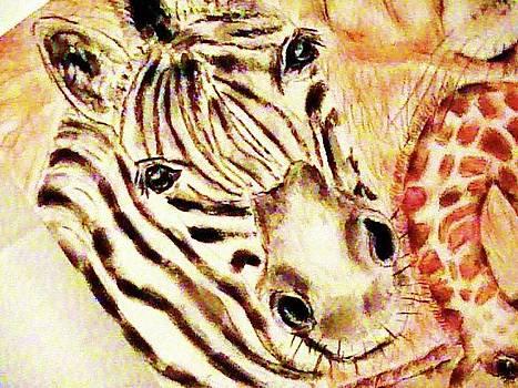 Forartsake Studio - Gentle Zebra