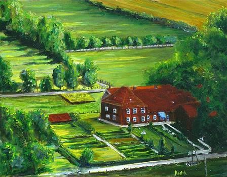 German Farm by Paintings by Parish