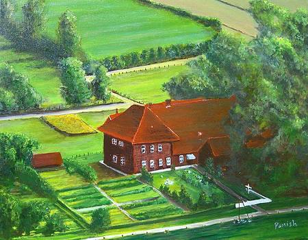 German Farm Two by Paintings by Parish