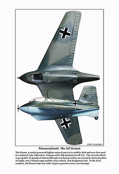 German Rocket Fighter by Jerry Taliaferro