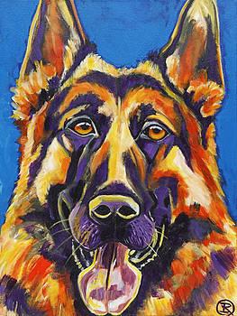 German Shepherd by Ilene Richard
