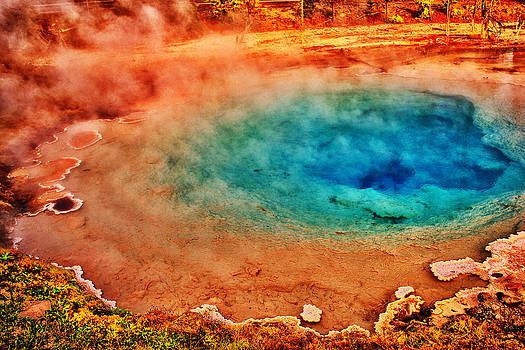 Geyser Colors by Kelly Reber