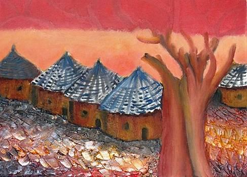 Ghost village by Selma Suliaman