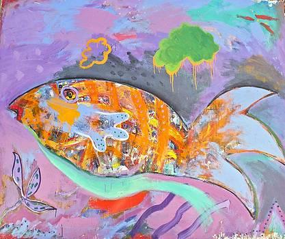 Giant Goldfish by Alan Stecker