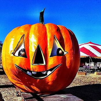 Giant Pumpkin. #halloween by Will Lopez