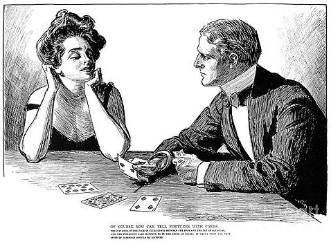Charles Dana Gibson - CARDS, 1900