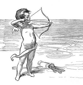 Charles Dana Gibson - CUPID, 1900