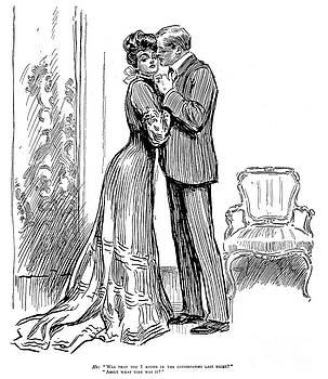 Charles Dana Gibson - KISS, 1903
