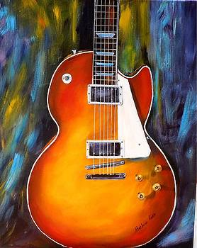 Gibson Les Paul by Barbara Pirkle