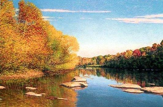 GICLEE Riverscape III by Michael Story