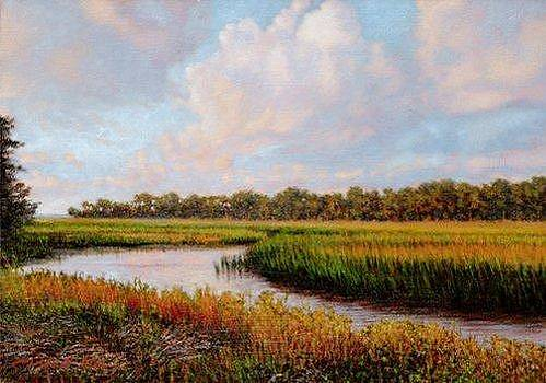 GICLEE Sea Island Expanse by Michael Story