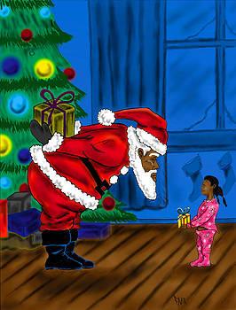 Gift For Santa by Steve Farr