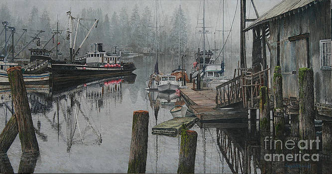 GigHarbor historic dock by Jerry Mitchell