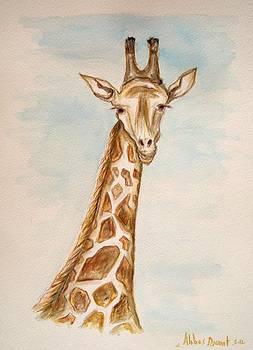 Giraffe  by Abbas Djamat