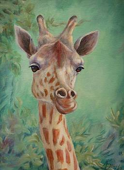 Giraffe by Mary Lillian White