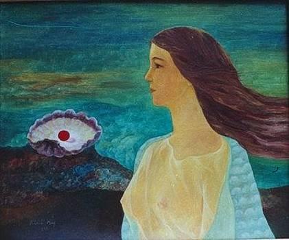 Girl and Ocean by Khanh Vu