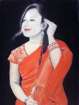 Girl from Nepal by Miguel Gonzales