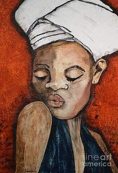 Girl in Blue by Vincent Avila