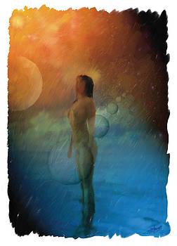 Girl In Bubble by Pavlos Vlachos