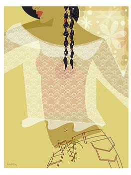 Girl In Lace by Lisa Henderling