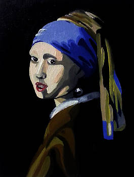Girl With the Pearl Earring by Corey Stewart