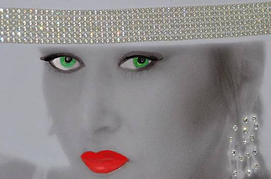 Girl With The Red Lips.. by Tanya Tanski