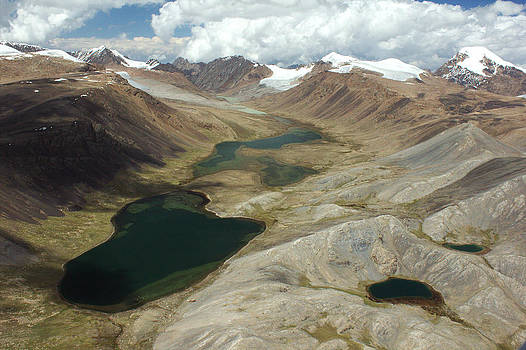 Glacial lakes in Kyrgyz Tien-Shan by Michal Cerny