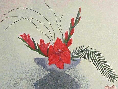 Gladiolus by Dalia Gatautiene
