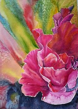 Gladiolus by Tatyana Seamon