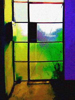 Glass Door Number 1 by Eve Paludan