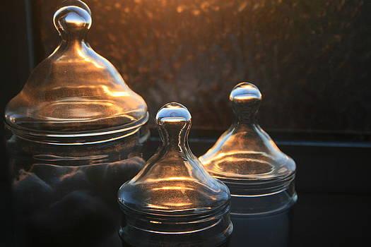 Glass jars by David Devine