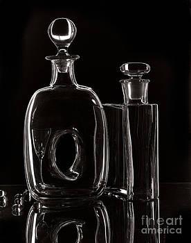 Glass on a Dark Field by Virginia Furness