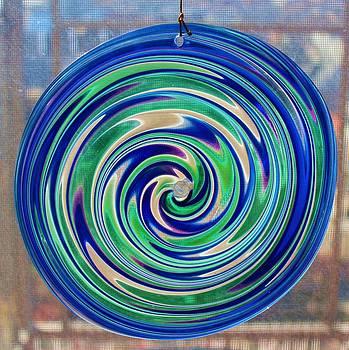 Glass Twirl by Rita Tortorelli