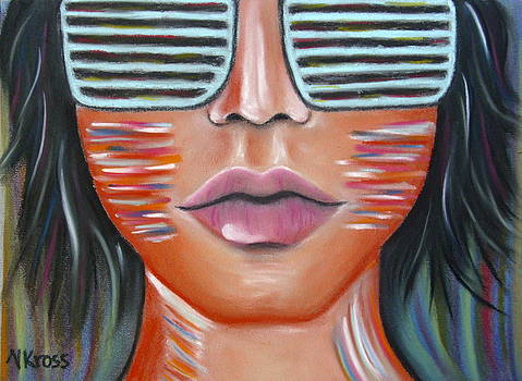 Glasses on my Face by Valentina Kross