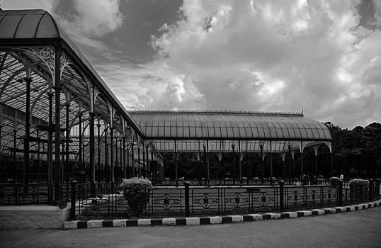 Kantilal Patel - Glasshouse pavillions Bangalore Botanical Gardens