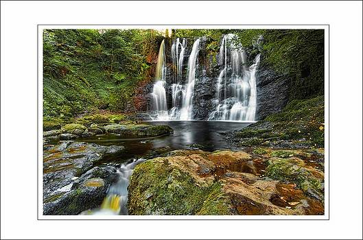 Glenariff Water Fall by Martin Bryers