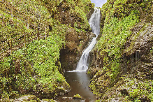Glenariff Waterfall by Drew McAvoy