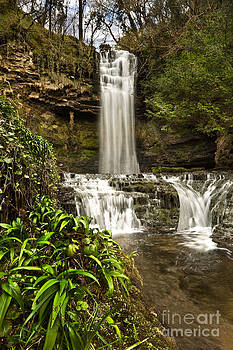 Glencar Waterfall by Derek Smyth