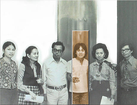 Glenn Bautista - Glenn Show - Galerie Bleu 1970