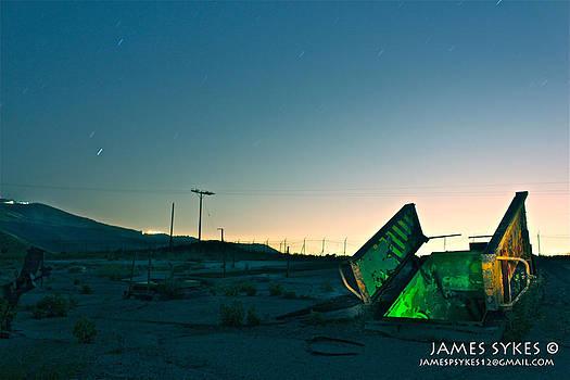 Glowing Doors by James Sykes
