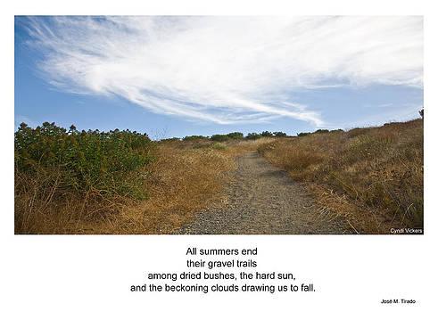 Gnomonic Trail by Cynthia Vickers - Jose M Tirado