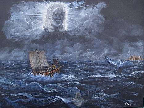 God Summons the Whale by Vicky Path