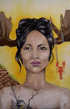Goddess of Maine by Victoria Dietz